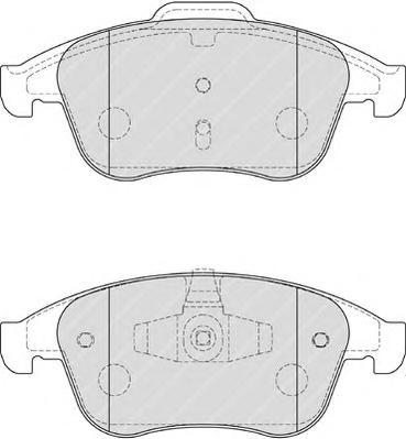 FDB4181 Колодки тормозные RENAULT LATITUDE 11-/MEGANE 08-/SCENIC 09- передние