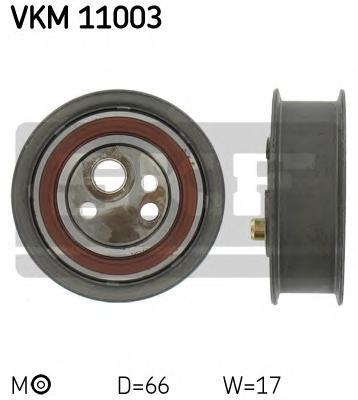 VKM11003 Деталь VKM11003_pолик натяжной pемня ГPМ