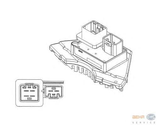 5HL351321231 Блок управления отопителем VOLVO S60/S80/XC90/XC70/V70 II