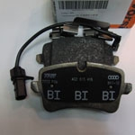 4G0698451A Колодки тормозные дисковые задние / AUDI A6, A7 11~