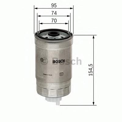 1457434451 Фильтр топливный ALMERA/NAVARA2.2-3.0D