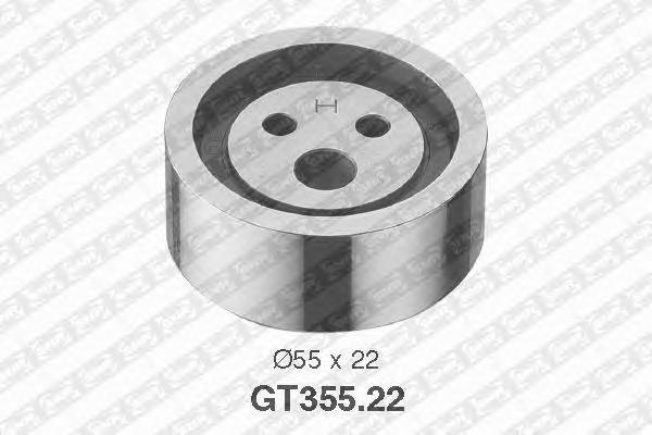 GT35522 Ролик ремня ГРМ RENAULT LOGAN/CLIO/KANGOO/ SANDERO 1.4-1.6i K7J/K7M натяжной