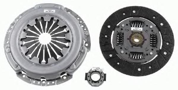 3000951348 Сцепление к-т FIAT ALBEA/DOBLO 1.4 01-