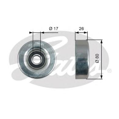 T36424 Ролик ремня приводного HONDA CIVIC/JAZZ 1.2/1.4 02-
