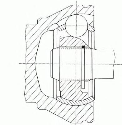 304837 ШРУС VW TRANSPORTER V 1.9TDI-2.5TDI 03- внутр. прав. МКПП