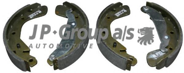 1263900110 Колодки тормозные барабанные / OPEL Astra-F, Corsa-A/B/C;Kadett-E (200x28 mm)