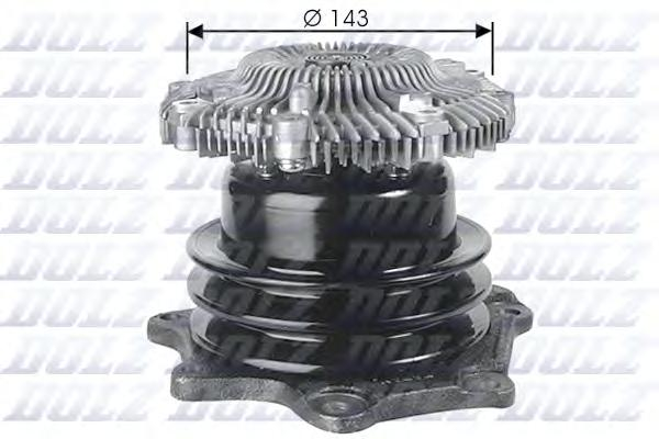 N143 Насос водяной FORD: MAVERICK 93-98, NISSAN: TERRANO I 89-96, TERRANO II 96-