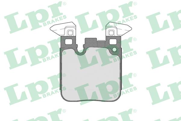 05P1803 Колодки тормозные BMW F20/21/30/35/80/31 (со спорт.пакетом) задние