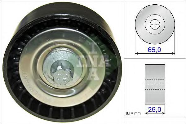 532057010 Ролик ремня приводного MB 2.2CDI 06-