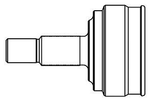 859153 ШРУС TOYOTA COROLLA IX/VERSO E120/PRIUS I-II 1.5-1.8 00-09 нар. +ABS