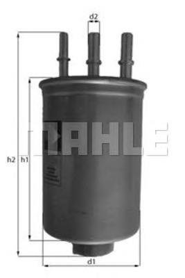 KL511 Фильтр топливный FORD TOURNEO 1.8 TDI