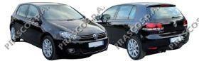 VW0387403 Кожух зеркала правый черный / VW Golf VI 09~13