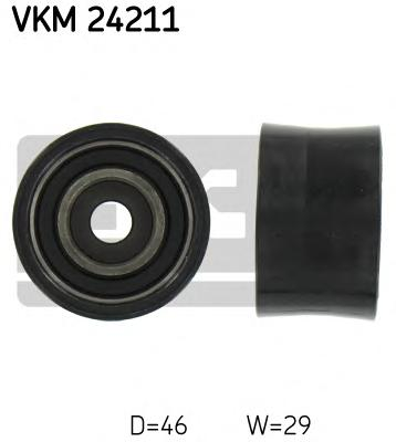 VKM24211 Деталь VKM24211_pолик обводной pемня ГPМ