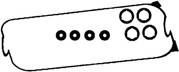 56016200 Прокладка клапанной крышки HONDA ACCORD 2.0/2.2 90-98 к-кт
