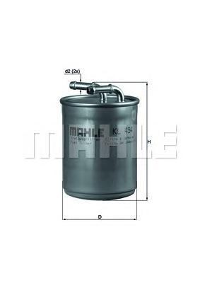 KL494 Фильтр топливный SKODA FABIA 1.4 TDI 05-