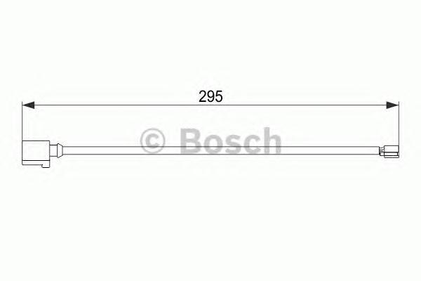 1987474565 Датчик износа торм.колодок VW TOUAREG 10- пер.