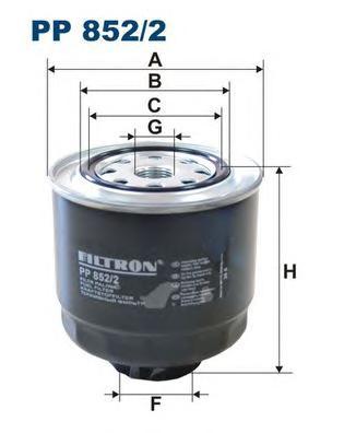 PP8522 Фильтр топливный MITSUBISHI L200 2.5DI-D 05-