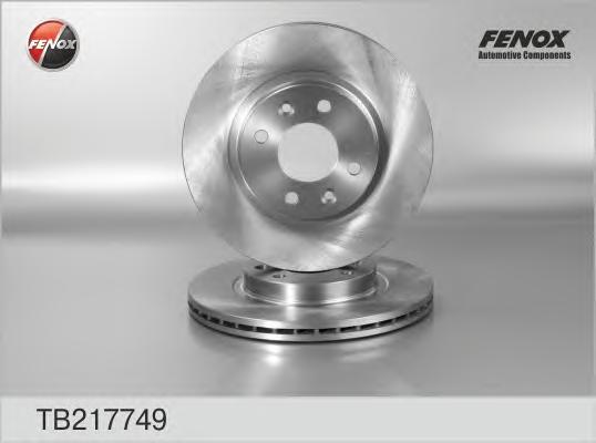 TB217749 Диск тормозной RENAULT LOGAN/SANDERO передний вент.D=259мм.