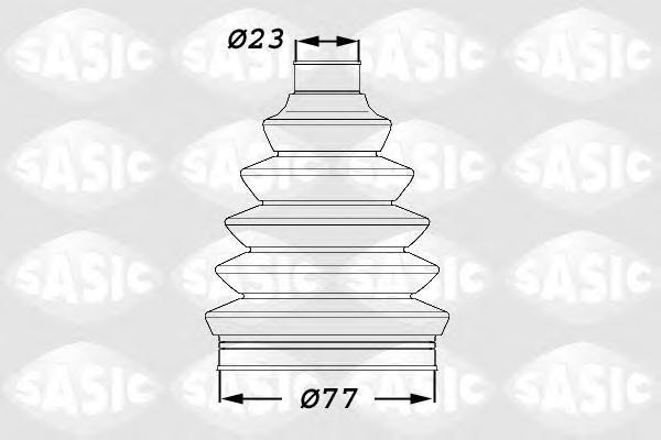 1900008 Пыльник ШРУСа CITROEN C2/С3 PEUGEOT 206/207 00-