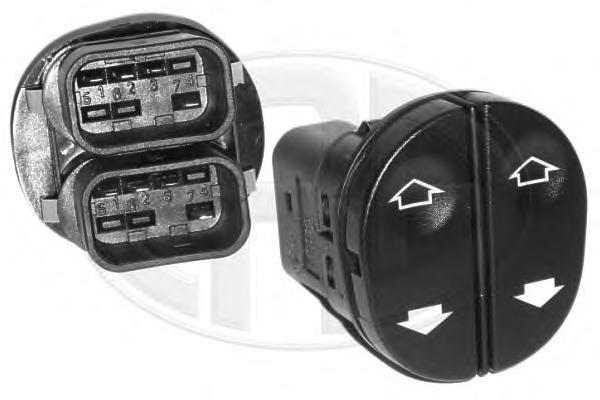 662220 Кнопка стеклоподъемника FORD TRANSIT/TOURNEO CONNECT левая