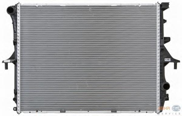 8MK376719001 Радиатор VAG Q7 3.0-4.2 06- /TOUAREG 3.0-6.0 02-10