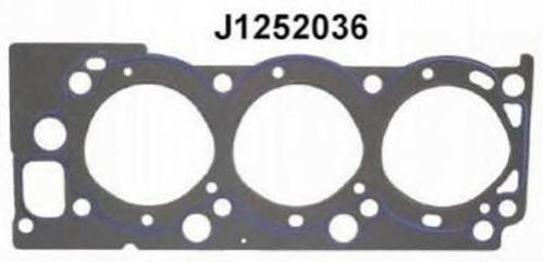 J1252036 Прокладка ГБЦ TOYOTA 4 RUNNER 3.0 90-95 прав.