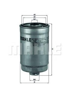 KC1011 Фильтр топливный HYUNDAI/KIA 2.0/2.2 CRDI