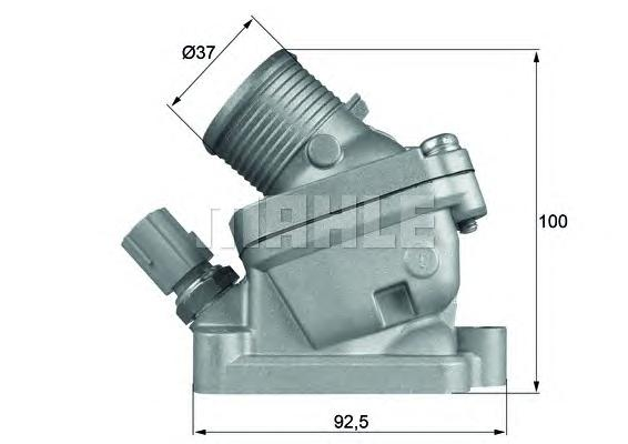 TH3690D Термостат VOLVO S60/S80/V70/XC90 2.4D 01-