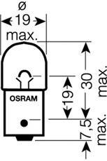 5007ULT02B Лампа R5W 12V-5W (BA15s) ULTRA LIFE (блистер 2шт.)