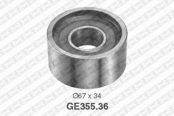 GE35536 Ролик ремня ГРМ CITROEN JUMPER/FIAT DUCATO/PEUGEOT BOXER