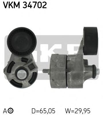 VKM34702 Натяжитель ремня приводного FORD TRANSIT 2.4D/3.2D 06-