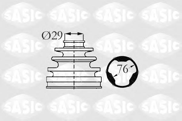2873883 Пыльник ШРУСа CITROEN BERLINGO/C3/C4/XSARA/PEUGEOT 206-307 1.1-1.9D 97- внутр.