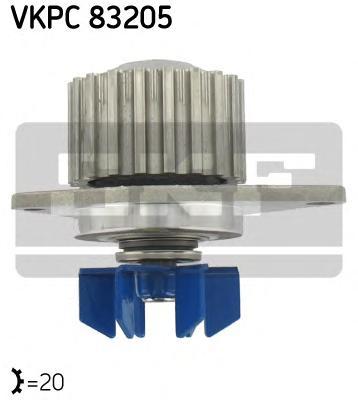 VKPC83205 Деталь VKPC83205 помпа! Peugeot 306 30