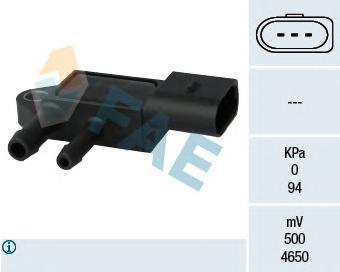 16103 Датчик, давление выхлопных газов