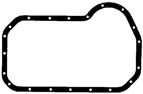 248097 Прокладка масляного поддона Audi 80. VW Golf 1.3/1.9TDi 79