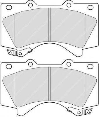 FDB4229 Колодки тормозные TOYOTA LAND CRUISER J200 4.5D/4.7 07-/LEXUS LX570 08- передние