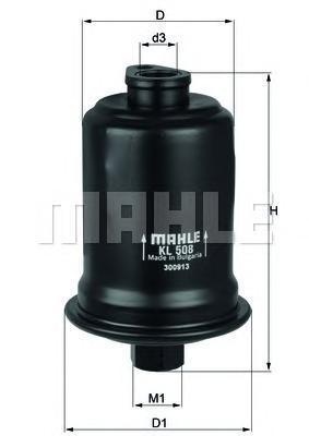 KL508 Фильтр топливный HYUNDAI ACCENT/LANTRA/GETZ 1.5-2.0
