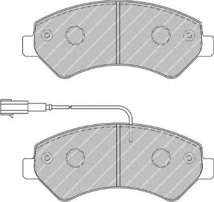 """FVR1926 Колодки тормозные CITROEN JUMPER/FIAT DUCATO/PEUGEOT BOXER R16"""" 06- передние"""