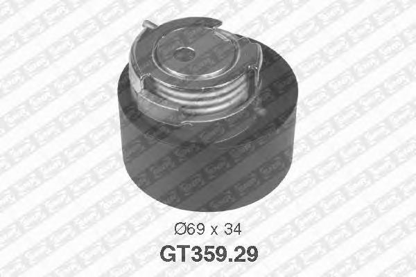 GT35929 Натяжитель ремня ГРМ LAND ROVER/PEUGEOT 407/607/CITROEN C5 2.5/2.7D/3.0D