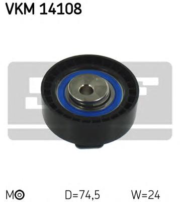 VKM14108 Ролик ремня ГРМ FORD FOCUS/MONDEO/TRANSIT 1.8D 98 натяжной