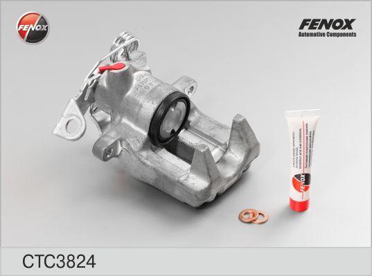 CTC3824 Суппорт торм.AUDI A4/A6/VW PASSAT/SKODA SUPERB 1.6-3.7 95-05 зад.прав.