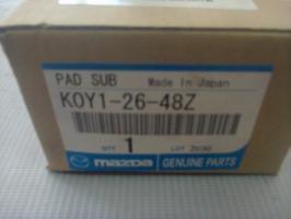 K0Y12648Z Колодки тормозные Мазда СХ-5 задние