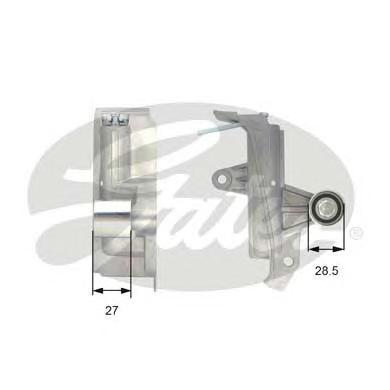 T43028 Ролик ремня ГРМ VAG 1.8T/2.0 95-