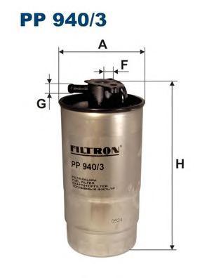 PP9403 Фильтр топливный BMW E39/E46 DIESEL