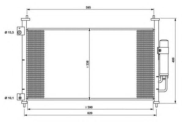 35763 Конденсатор, кондиционер