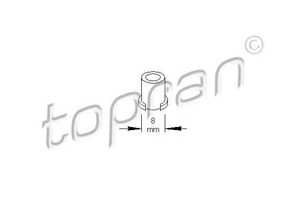 700597 Клипса обшивки Dacia Logan 04