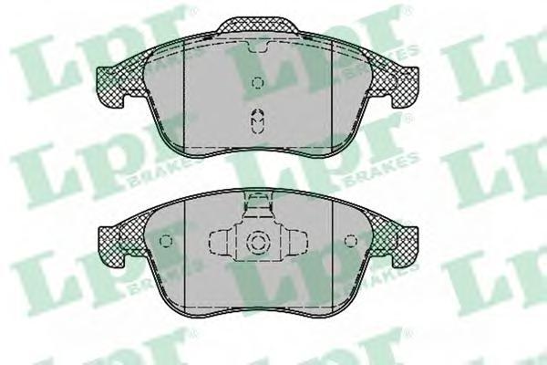 05P1388 Колодки тормозные дисковые передн RENAULT: LAGUNA III 07 - , LAGUNA III Grandtour 07 - , LAGUNA купе 08 -