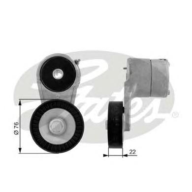 T38212 Натяжитель ремня приводного OPEL ASTRA G/H/VECTRA C 1.6/1.8