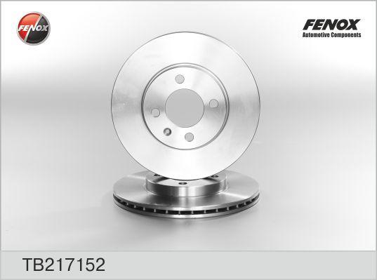 TB217152 Диск тормозной VOLKSWAGEN GOLF2/3/PASSAT/POLO/VENTO 8101 передний вент.