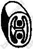 255520 Подвеска глушителя RENAULT LOGAN
